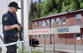 Polis Jönköping'in o bölgesini kuşattı