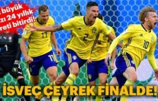 2018 Dünya Kupası'nda İsveç, Emil Forsbeg...