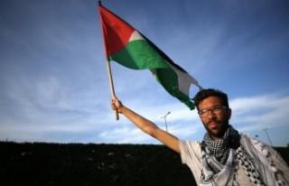 Filistin'den İsveçli aktivist Ladraa'ya teşekkür