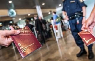 İsveç'in bir çok sınırlarında pasaport...