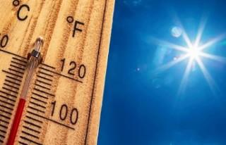 Avrupa'nın batısında sıcaklık 50 dereceyi...
