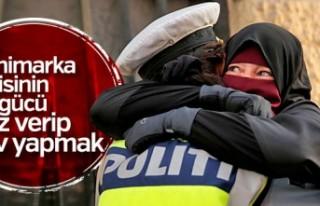 Danimarka'da burka ve peçe yasağına tepki