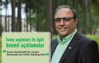 İsveç seçimleri ile ilgili Mehmet Çoksürer'den...