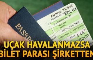 Avrupa Adalet Divanı, uçmayan uçağın yolcusunu...