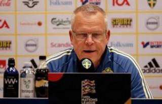 İsveç Milli Futbol Takımı Teknik Direktörü Andersson:...