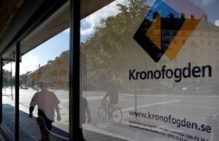 Kronofogden ofisine saldırı