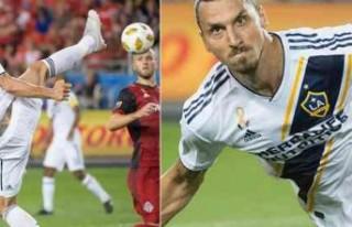 Zlatan'dan yine çok ilginç bir gol