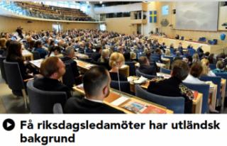 İsveç meclisinin yüzde 11 yabancı kökenli