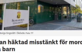 İsveç'te 3 yaşındaki çocuk cinayeti