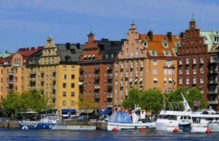 İsveç'te hava sıcaklığı 24 dereceyi gördü