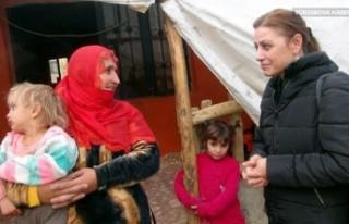 İsveç'ten Yüksekovalı Duman ailesine yardım...