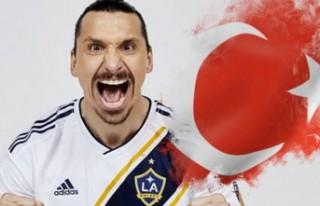 Ibrahimovic kafaları karıştırdı! Türk bayraklı...