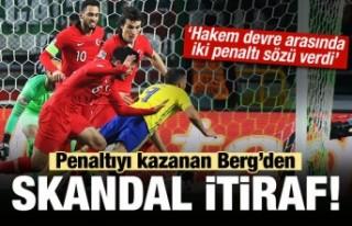 İsveç'ten Skandal itiraf! 'Hakem penaltı...