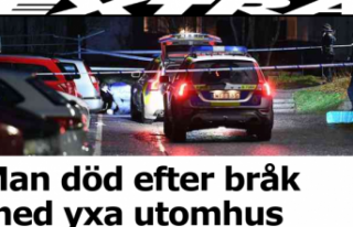 Stockholm'de bir kişi balta ile öldürüldü