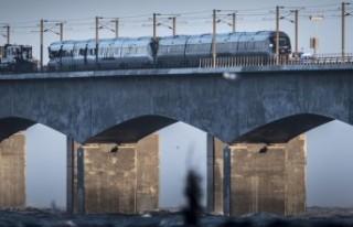 Danimarka'daki tren kazasında ölü sayısı...