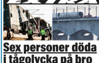 Danimarka'da tren kazası: 6 kişi öldü
