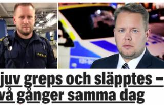 İsveç'te aynı gün soygundan iki kere yakalanan...