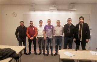 İsveç'te Galatasaray Derneği Başkanı Güven...