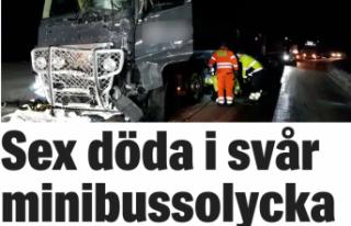 İsveç'te korkunç kaza: 6 ölü, 7 yaralı