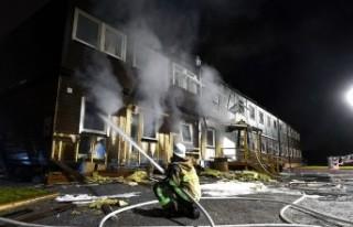 İsveç'te sığınmacı yurdunda yangın