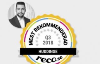 Mithat Bircan, Huddinge'nin en başarılı emlakçısı...