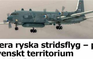 Rus ve İsveç savaş uçakları arasında tehlikeli...