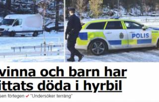 Stockholm'de korkunç olay: bir anne ve çocuğu...