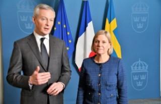 Fransa Ekonomi ve Maliye Bakanı Bruno Le Maire İsveç'te