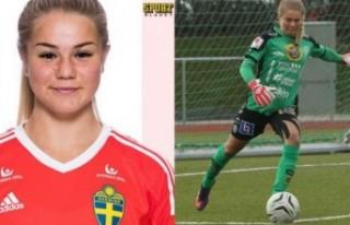 İsveç'te Müslüman olan kadın kaleciye tehdit...