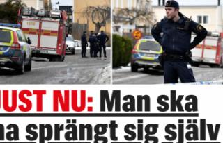 İsveç'te patlama bir kişi öldü