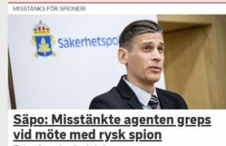 İsveç'te Rusya'ya casusluk yaptığı...