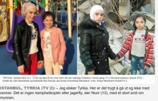 Norveç televizyonu: ''Suriyeli kardeşler...