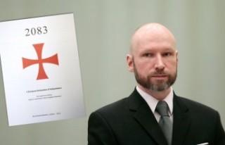 Breivik'in ırkçı manifestosunun internette...