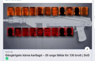 İsveç'te iki çete arasındaki çatışmada...