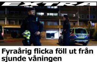İsveç'te Yedinci kattan düşen çocuk ağır...