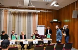 İsveç Türk Gençlik Federasyonu İsveçli siyasetçileri...