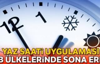 İsveç, yaz saati uygulamasından vazgeçiyor