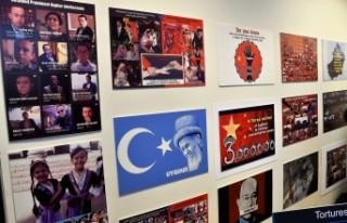 Uygur Türklerinden İsveç'te Çin zulmünü...