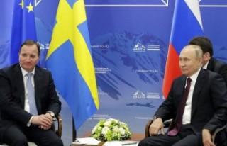 İsveç Başbakanı Löfven, Putin ile görüştü