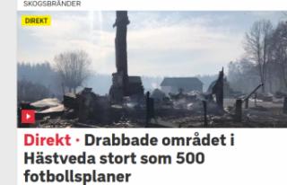 İsveç'te Mevsim Normallerinin Üzerindeki Sıcaklar...