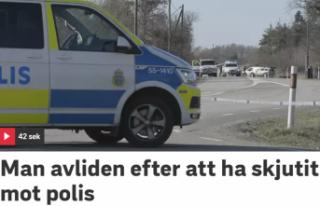Polisin vurduğu bir kişi öldü