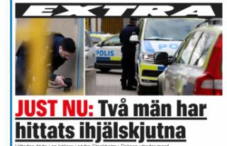 Stockholm'de iki kişi bir apartmanda öldürülmüş...