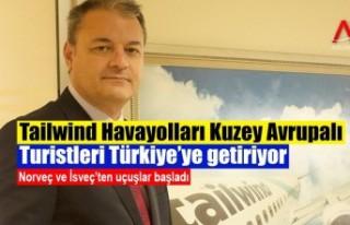 Tailwind Havayolları İsveç ve Norveç'ten...