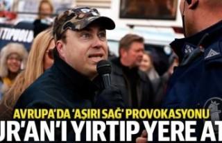 Finlandiya'da aşırı sağcı lider Kur'an-ı...