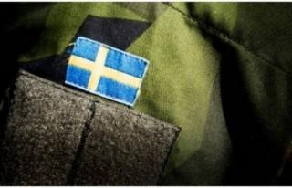 İsveç'te Irak'taki askeri eğitimlerini...