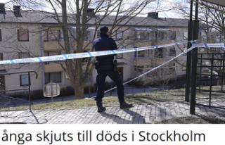 Stockholm'de bu sene rekor sayıda adam vuruldu