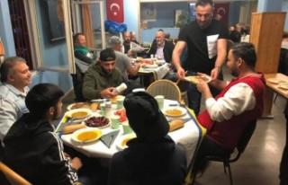 Stockholm'de Fittja Türk Kültür Derneği iftar...