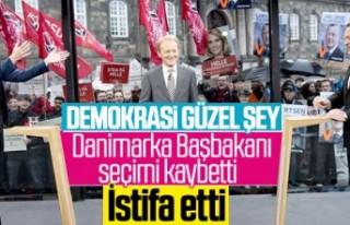 Danimarka başbakanından istifa sözü