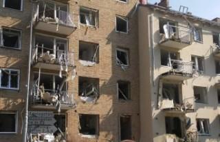 İsveç'te bir binada patlama