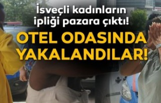 Telefon hırsızı İsveç vatandaşı 3 kadın, otelde...